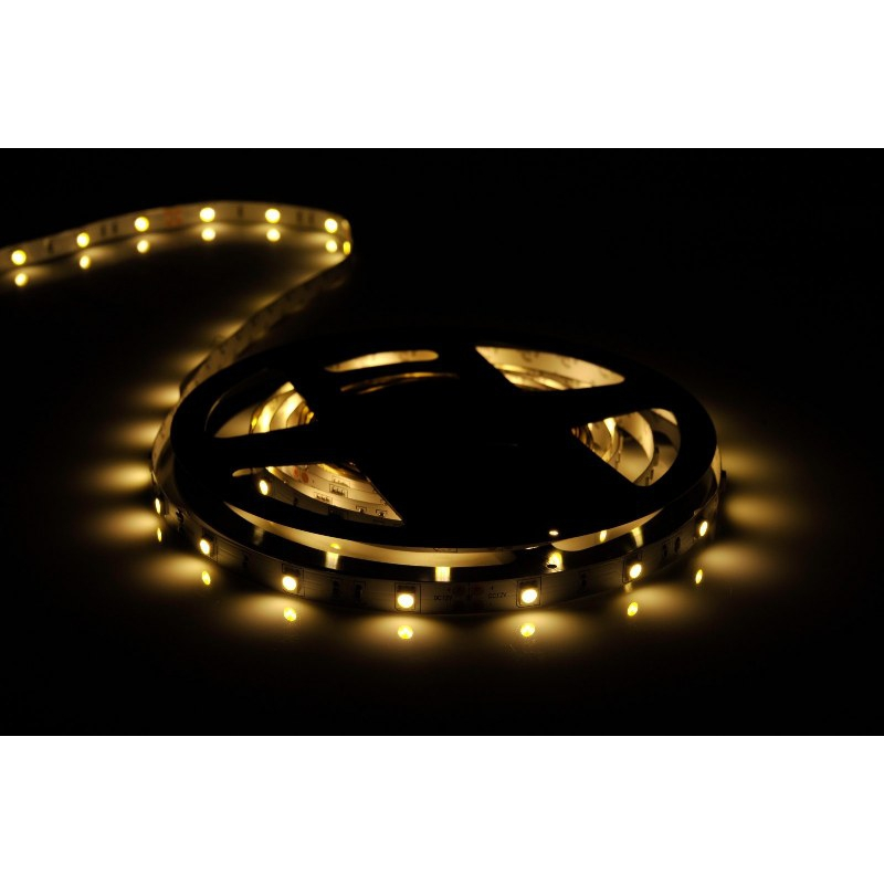 5 meter led band 12v 5050 warmweiss 2900k 7 2w 30 leds m. Black Bedroom Furniture Sets. Home Design Ideas