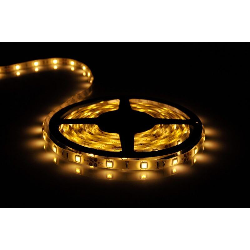 5 meter led leiste 12v 5050 warmweiss 2900k 7 2w 30 leds. Black Bedroom Furniture Sets. Home Design Ideas