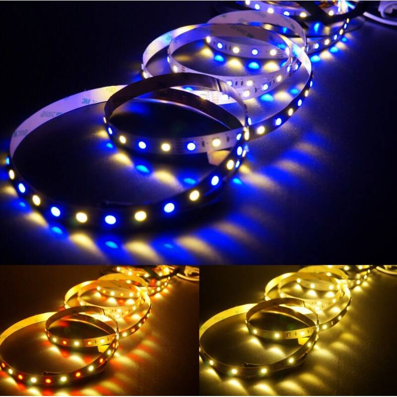 5 meter led band 12v 5050 rgbw rgb warmweiss 60 leds m ip20 27 00. Black Bedroom Furniture Sets. Home Design Ideas