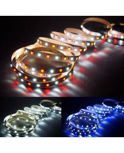 5 Meter LED Band 12V 5050 RGBW RGB + Kaltweiss 60 Leds/M...