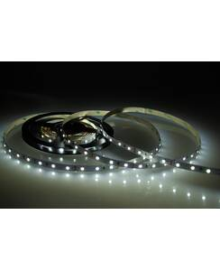 5 Meter LED Strip 12V 3528 Kaltweiss 6000K 4,8W & 60...