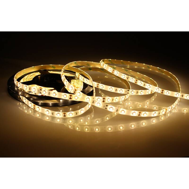 5 Meter LED Strip 12V 3528 Warmweiss 2900K 4,8W & 60 Leds/M IP65