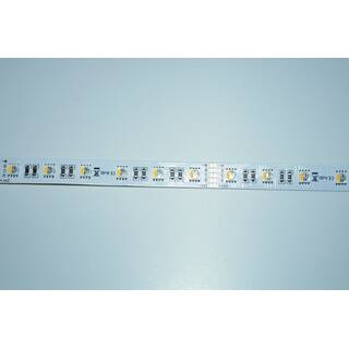 5 Meter LED Strip 24V 5050 RGBW Kaltweiss (4-1 Chip) 19,2W & 60 Leds/M IP20