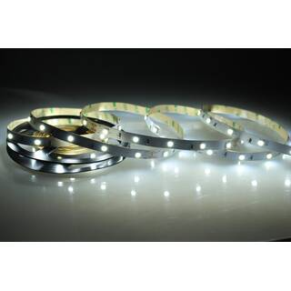 5 Meter LED Band 24V 5050 Kaltweiss 6000K 7,2W & 30 Leds/M IP20