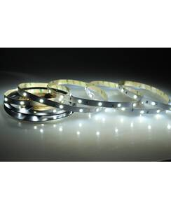 5 Meter LED Band 24V 5050 Kaltweiss 6000K 7,2W & 30...