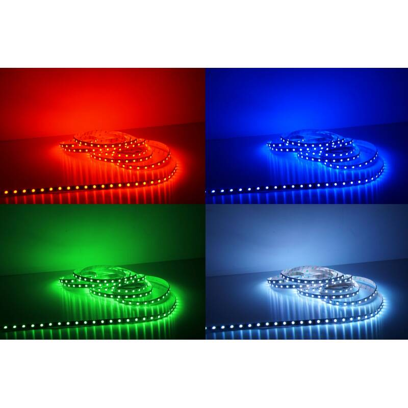 5 Meter LED Strip 24V 5050 RGB 14,4W & 60 Leds/M IP65 High Lumen