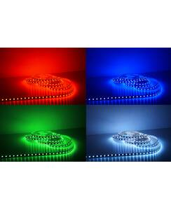 5 Meter LED Strip 24V 5050 RGB 14,4W & 60 Leds/M IP63...