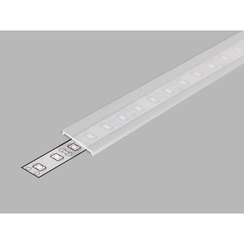 2 Meter Abdeckung (Typ C3) Klar Klickabdeckung Serie ECO